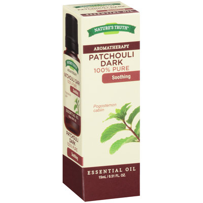 Nature's Truth® Aromatherapy Patchouli Dark 100% Pure Essential Oil 0.51 fl. oz. Box