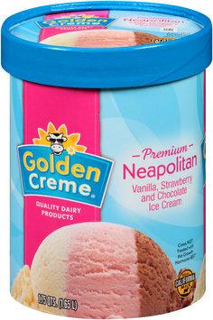 Golden Creme® Premium Neapolitan Ice Cream 1.75 qt. Tub