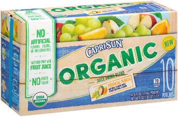 Capri Sun® Organic Tropical Punch Juice Drink 10-6 fl. oz. Pouches
