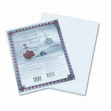 Pacon Riverside Groundwood Construction Paper - White - PA