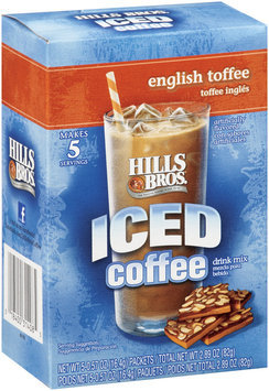 Hills Bros.® Iced Coffee English Toffee 0.57 Oz Packets 5 Ct Box
