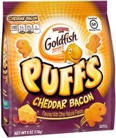 Pepperidge Farm® Goldfish® Xtreme® Puffs Cheddar Bacon Baked Puffed Snacks 6 oz. Bag