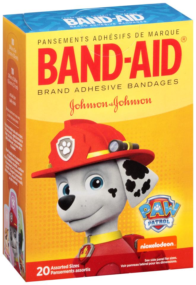 Band-Aid® Brand Adhesive Bandages Johnson & Johnson 20 ct. Box