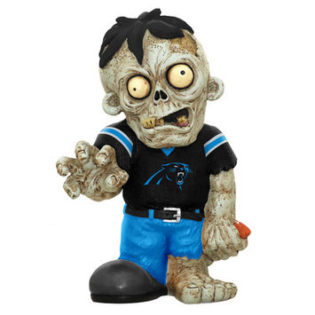 Recaro North Forever Collectibles NFL Resin Zombie Figurine, Carolina Panthers