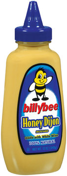 Mustard Honey Dijon Billybee Mustard 12 Oz Squeeze Bottle