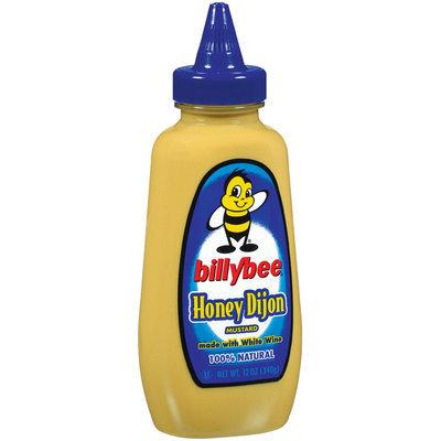 Mustard Honey Dijon Billybee Mustard 12 Oz Squeeze Bottle