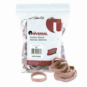 Universal Products Universal Rubber Bands, Size 62, 1/4 x 2-1/2, 520 per 1lb Box