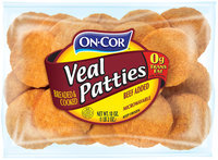 On•Cor® Veal Patties 18 oz. Package