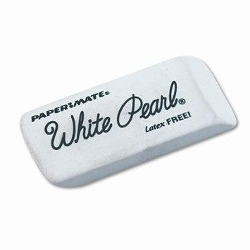 Papermate 70626 White Pearl Eraser 12-Box