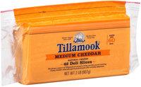 Tillamook® Medium Cheddar Deli Cheese Slices 2 lb. Pouch
