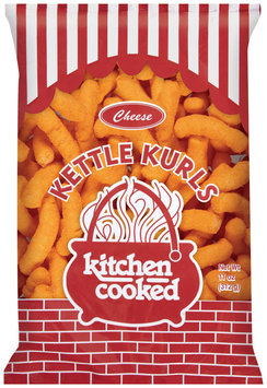 Kitchen Cooked Cheese Kettle Kurls 11 Oz Bag