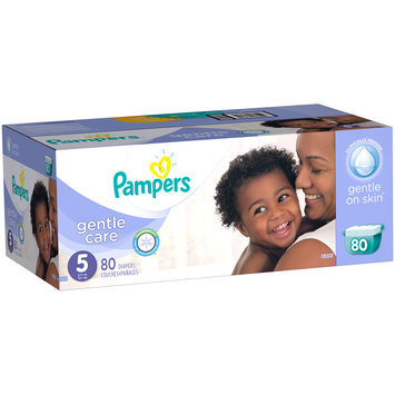 Pampers® Gentle Care Newborn Diapers Size 5