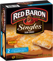 Red Baron® Singles Thin Crust 4 Cheese 2 ct. Box