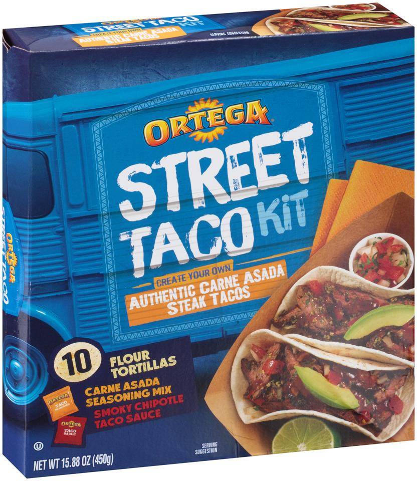 Ortega® Authentic Carne Asada Street Taco Kit 15.88 oz Box