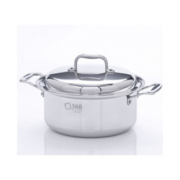 Cookware Stock Pot with Lid Size: 4 Quarts