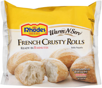 Rhodes® Warm-N-Serv™ French Crusty Rolls 12 ct Bag