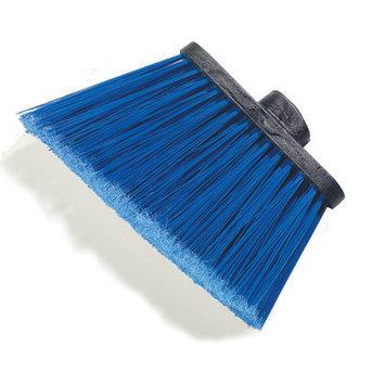 Carlisle 3686714 - Medium Duty Angle Broom Head w/ 12-in Blue Flare He