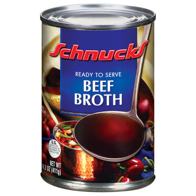 Schnucks Beef Broth 14.5 Oz Can