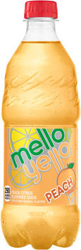 Mello Yello Peach Soda 20 fl. oz. Plastic Bottle