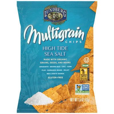 Lundberg® High Tide Sea Salt Multigrain Chips 1.5 oz. Bag