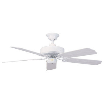 Concord Fans - 52NA5WH - Nautika - 52 Outdoor Ceiling Fan