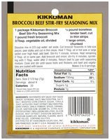 Kikkoman Broccoli-Beef Stir-Fry Seasoning Mix 1 oz.