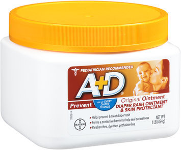 A+D® Original Diaper Rash Ointment & Skin Protectant 1 lb. Tub