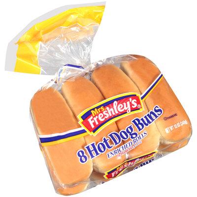 Mrs. Freshley's Hot Dog Buns 8 ct. Bag