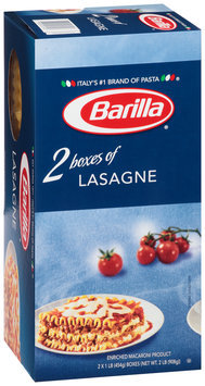 Barilla® Lasagne Pasta 2-1 lb. Boxes