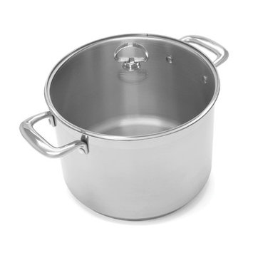 Chantal Induction 21 Stock Pot with Glass Lid - 8 Quart