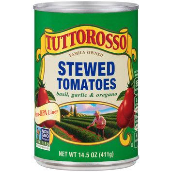 Tuttorosso® Basil, Garlic & Oregano Stewed Tomatoes 14.5 oz. Can