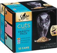 Sheba® Cuts in Gravy Variety Pack 12-3 oz. Cans