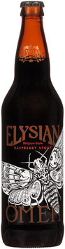 Elysian® Omen Belgian-Style Raspberry Stout 22 fl. oz. Bottle