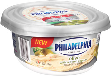 Philadelphia Olive with Red Bell Peppers Cream Cheese Spread
