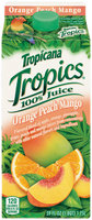 Tropics 100% Orange Strawberry Banana Juice 59 Oz Carton