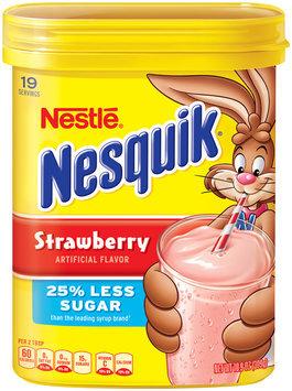 Nestlé NESQUIK Strawberry Flavored Powder 10.9 oz. Canister