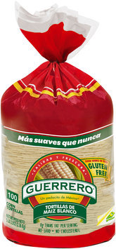 Guerrero® White Corn Tortillas 100 ct Bag