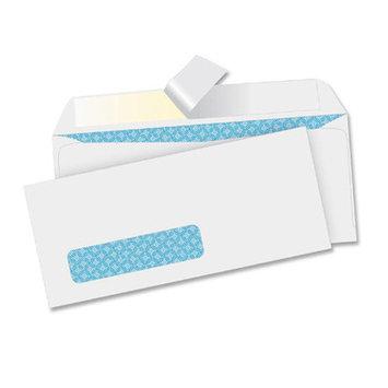 Business Source Business Envelopes, No. 10, Peel/Seal, 9-3/4