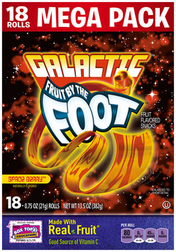Fruit By The Foot Galactic Space Berry