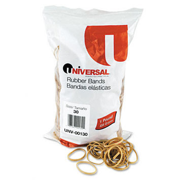 Universal Rubber Bands, 1100 Bands/1 lb Pack