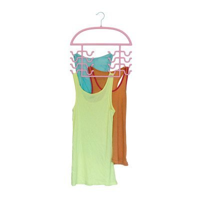 Axis International Tank Top Hanger Finish: Pink