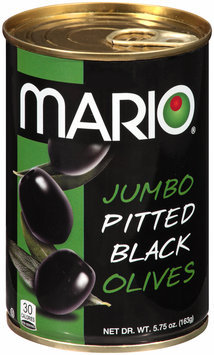 Mario® Jumbo Pitted Black Olives 5.75 oz. Pull Top Can