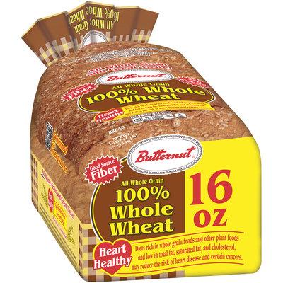 Butternut® 100% Whole Wheat Bread 16 oz. Bag