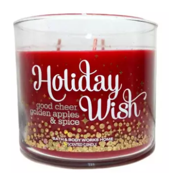 Bath & Body Works® HOLIDAY WISH 3 Wick Scented Candle