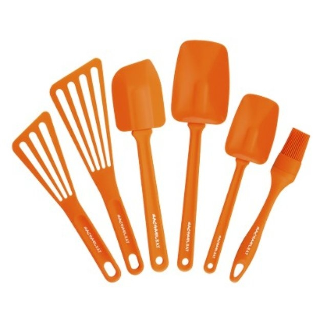 Rachael Ray 6-pc. Cooking Set Orange