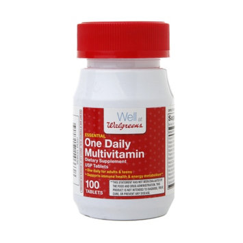 Walgreens One Daily Multivitamin Dietary Supplement Tablets