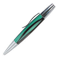 Monteverde(R) Intima(TM) Ballpoint Pen, 0.8mm, Medium Point, Green Barrel, Black Ink