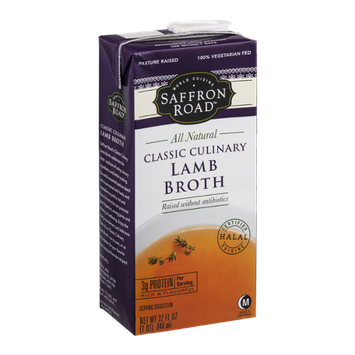 Saffron Road Classic Culinary Lamb Broth