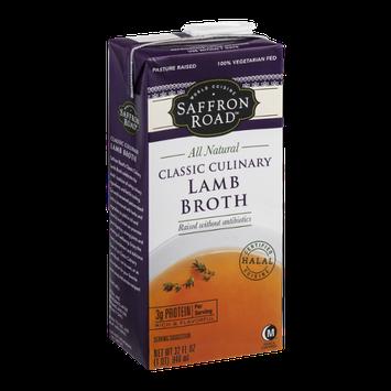 Saffron Road Classic Culinary Lamb Broth