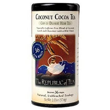 The Republic of Tea, Coconut Cocoa Herb Tea, 36-Count
